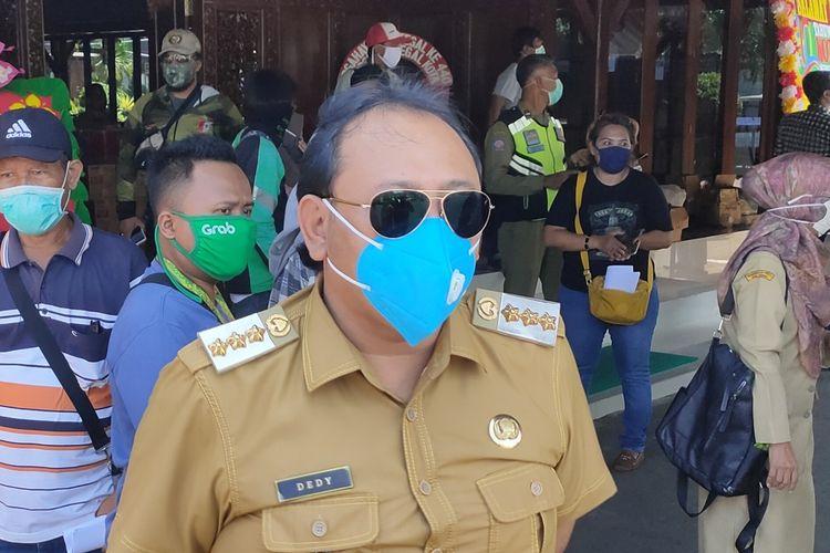 Wali Kota Tegal, Jawa Tengah, Dedy Yon Supriyono