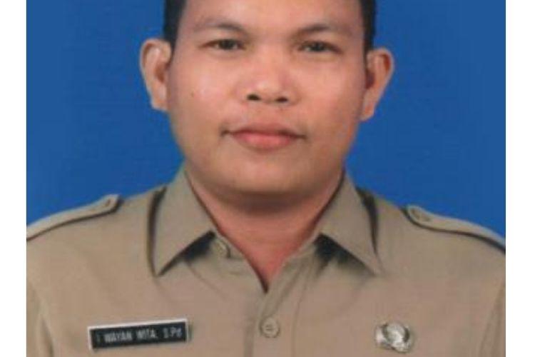I Wayan Wita, guru SD Negeri 4 Benoa, Kuta Selatan, Badung, Bali, terpilih sebagai lima guru terbaik di tingkat nasional 2020.
