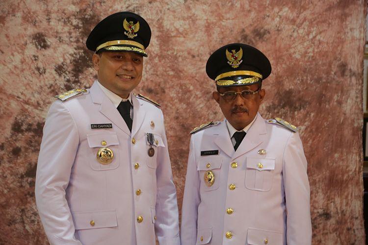 Wali Kota Surabaya Eri Cahyadi dan Wakil Wali Kota Surabaya Armuji.