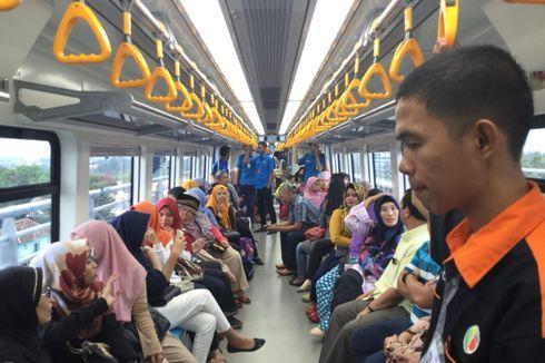 LRT Palembang Digratiskan hingga 2 September