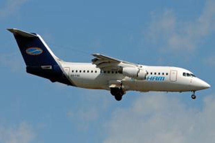 Sebuah pesawat Cobham Aviation