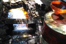 Risma Akan Manfaatkan Semburan Minyak di Surabaya untuk Alat Pompa Air
