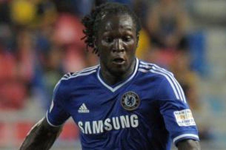 Striker Chelsea, Romelu Lukaku.