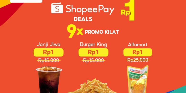 Dukung Peningkatan Daya Beli Masyarakat Shopeepay Hadirkan Promo Shopeepay Deals Rp 1