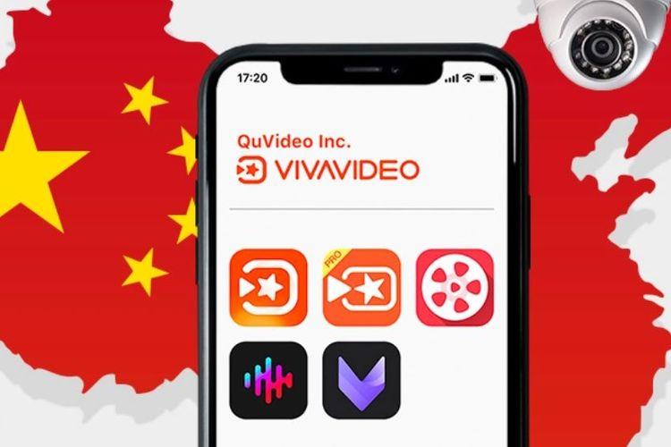 Ilustrasi aplikasi Vivavideo.