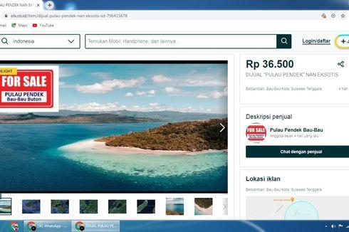 Protes Pulau Pendek Dijual di Situs Jual Beli Online, Warga: Itu Tanah Leluhur Kami