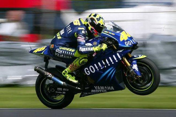 Livery yang paling populer yang pernah digunakan Valentino Rossi