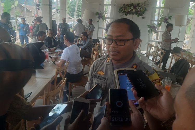 Kapolres Sumedang AKBP Hartoyo. AAM AMINULLAH/KOMPAS.com