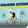 INFOGRAFIK: 32 Kawasan Alternatif Pengganti CFD Sudirman-Thamrin