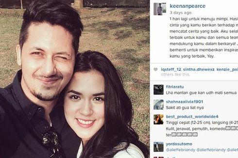 Kakak Pevita Pearce Bawa Buket Mawar Putih untuk Raisa?