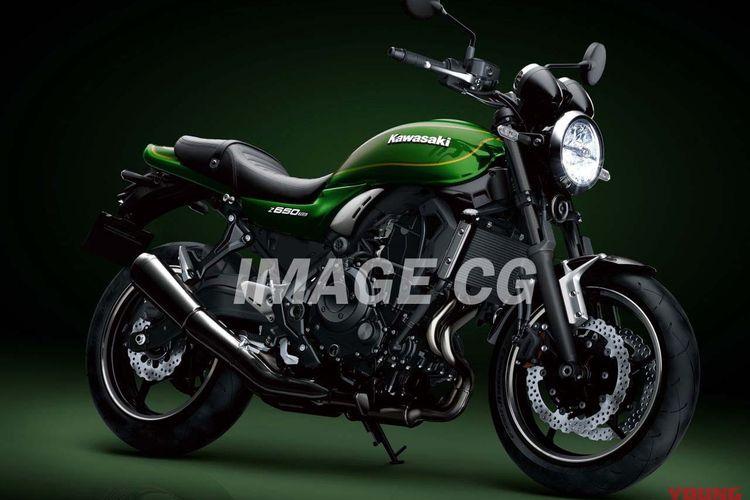 Render Kawasaki Z650RS