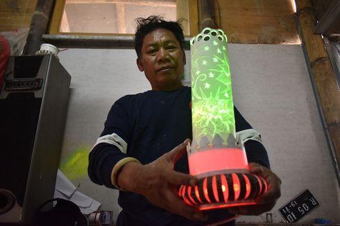 Cerita Adhe, Mantan Napi yang Ubah Stigma Negatif dengan Keindahan Lampion Paralon