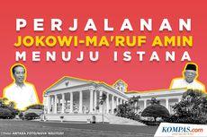 INFOGRAFIK: Perjalanan Jokowi-Ma'ruf Amin Menuju Istana