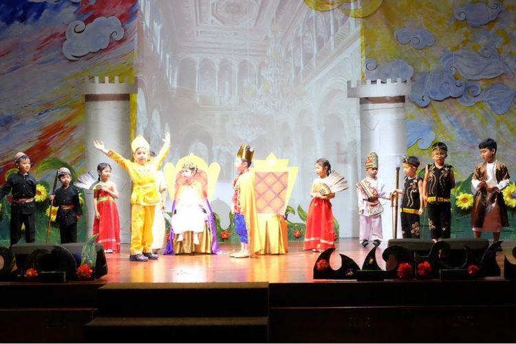Pementasan Drama TK Santa Ursula Jakarta