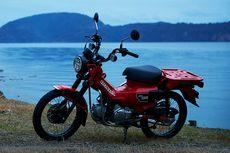 Motor Retro Honda yang Tersegmentasi