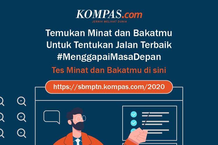 Pilih Jurusan Terbaik di Tes Minat Bakat Online Gratis Kompas.com x Quipper