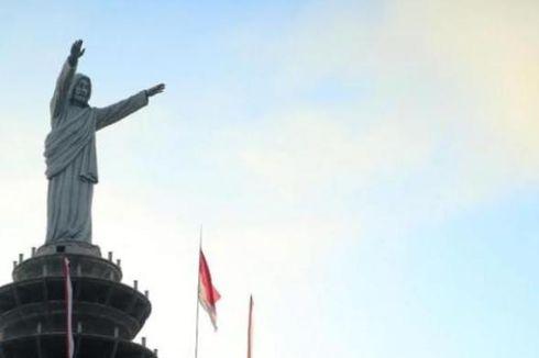 Bukan di Brasil, Ini Patung Yesus di Puncak Buntu Burake Toraja