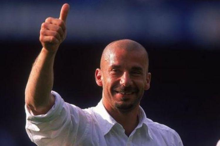 Pemain legenda Juventus, Gianluca Vialli.