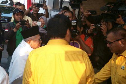 Setelah ke PPP, Ma'ruf Amin Kunjungi Kantor DPP Partai Golkar