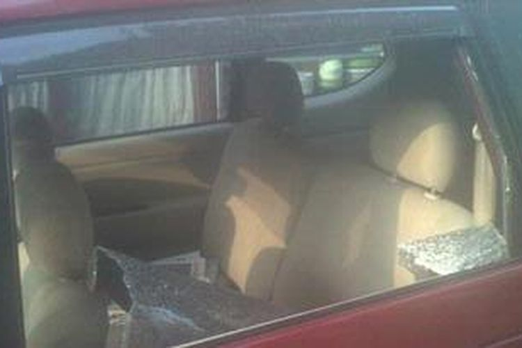 Ilustrasi. Rampok dengan modus pecah kaca mobil.