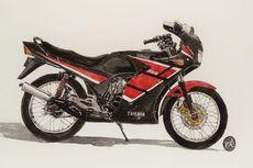 Yamaha RZR, Pionir Motor Full Fairing Pabrikan Garpu Tala