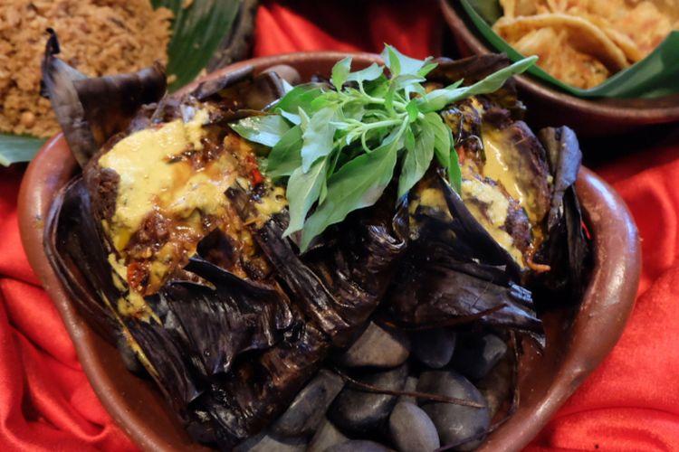 Kambing panggang kunstkring, hidangan ramadhan di restoran Tugu Kunstkring Paleis.