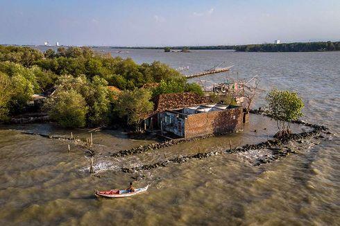 8.023 Hektar Lahan di Pantura Tenggelam akibat Abrasi