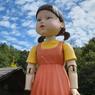 Bukan Sekedar Properti, Ternyata Boneka Menyeramkan Squid Game Ada di Desa Ini