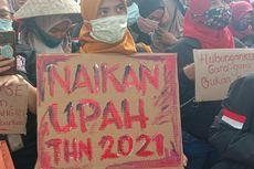 Puluhan Ribu Buruh Bakal Demo Selama 2 Hari