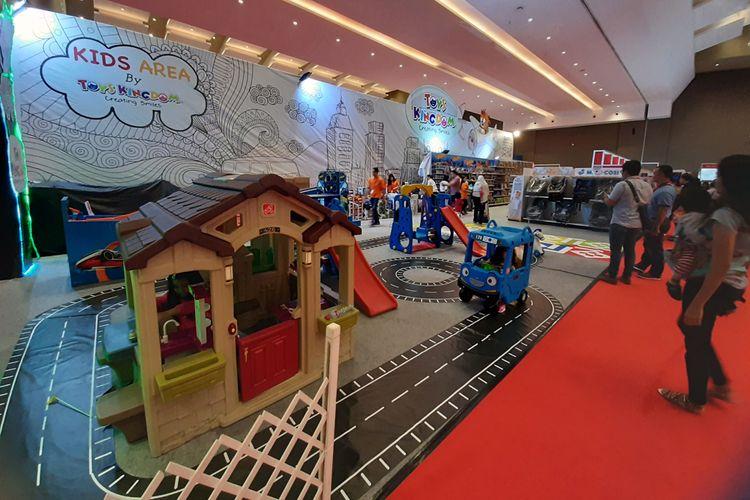 Salah satu kids area di IIMS 2019 yang disediakan oleh Toys Kingdom.