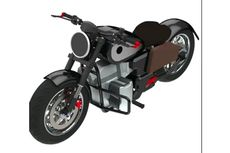 Gesits RKG-72, Motor Listrik Konsep Karya Ridwan Kamil