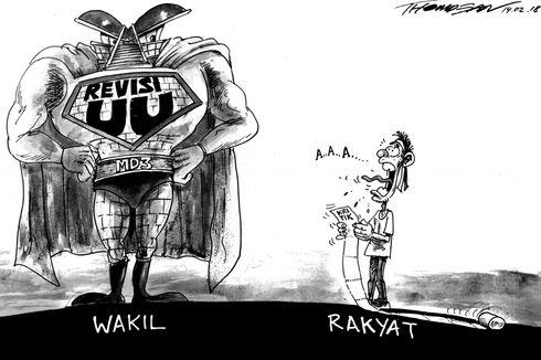 Kontroversi UU MD3 dan Upaya Menjaga Marwah Wakil Rakyat