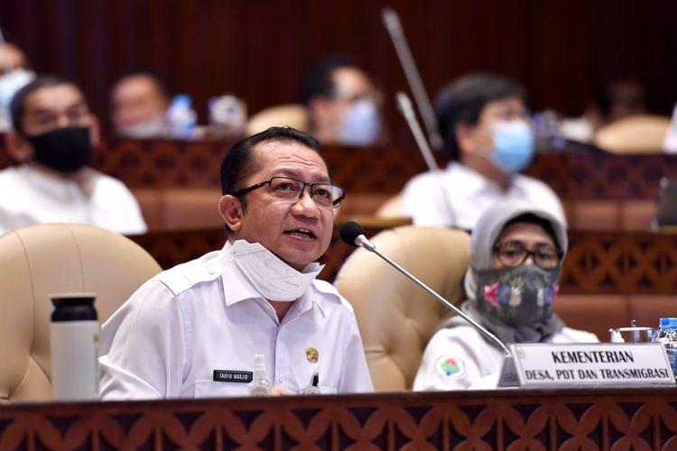 Sekretaris Jenderal Kemendes PDTT Taufik Madjid