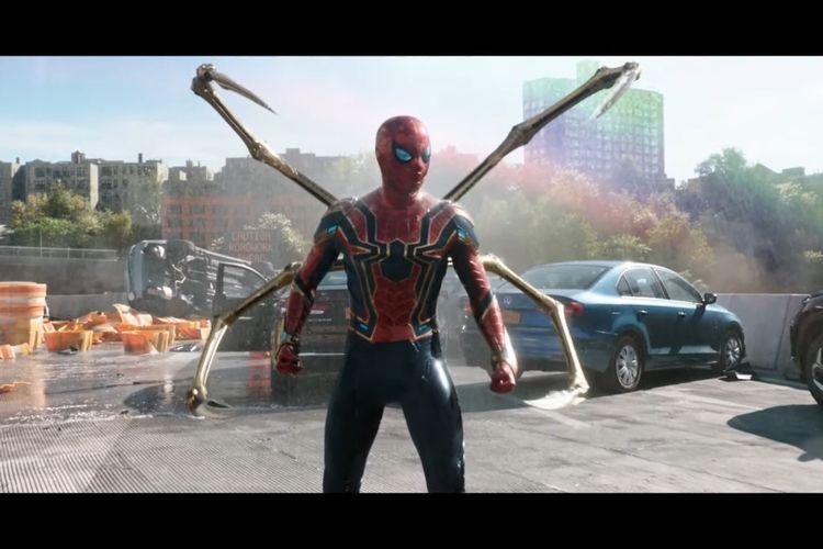 Cuplikan trailer film Spider-Man: No Way Home.
