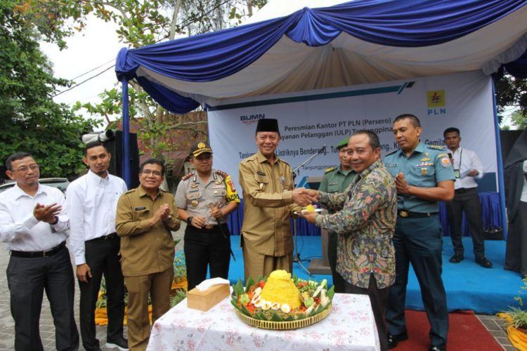 PLN UIW Riau dan Kepri meresmikan kantor baru Unit Layanan Pelanggan (ULP) Tanjungpinang Kota, Senin (11/3/3019) pagi tadi.