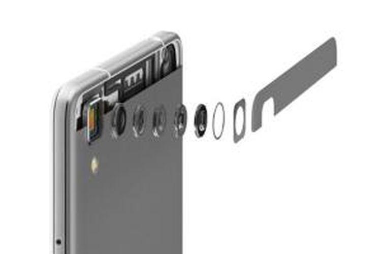 Kamera utama 13 MP Oppo R7 akan semakin unggul dengan dengan fitur Flash Shot.