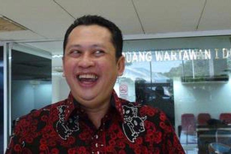 Anggota DPR asal Fraksi Partai Golkar Bambang Soesatyo.