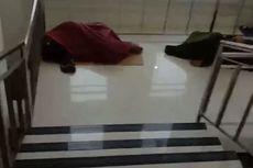 Foto Viral Pasien Tidur di Lantai Tanpa Alas, Ini Kata Satgas Covid-19 Jawa Timur