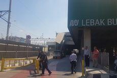 Jaksel Uji Coba Jalur Khusus Kendaraan Umum di Stasiun MRT Lebak Bulus
