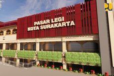 Pasar Legi Siap Dibuka November 2021, Mampu Menampung 2.000 Pedagang