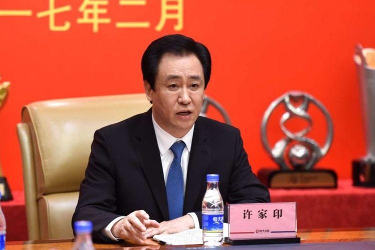 Pengusaha properti dan pemilik China Evergrande, Hui Ka Yan
