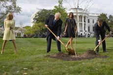 Pohon Simbol Persahabatan Trump-Macron Dilaporkan Mati
