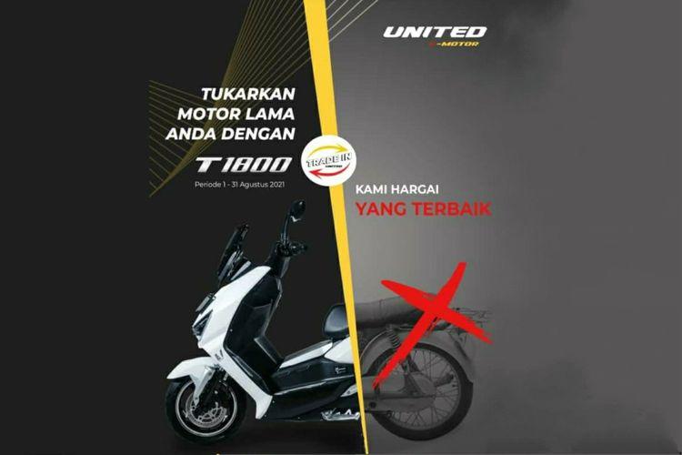 Pogram Trade In United T1800