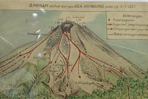 Belum Ada Kamera, Pengamat Gunung Merapi Zaman Dulu Andalkan Sketsa