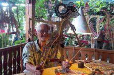 Kisah Mbah Brambang, Membuat Wayang sejak 1965, Dikirim hingga ke Luar Negeri