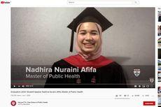 Pidato di Wisuda Harvard, Ini yang Disampaikan Nadhira Afifa