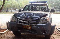 Propam Selidiki Polisi Penabrak Mobil yang Terparkir di Monas