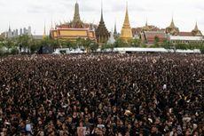 Raja Bhumibol Dikremasi, 250.000 Warga Bangkok Turun ke Jalan