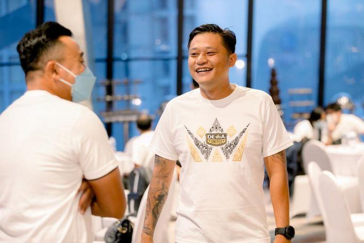 Founder klub olahraga Dewa United, Tommy Hermawan Lo.