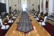 Presiden Jokowi Gelar Rapat Tatap Muka Perdana, Begini Protokolnya